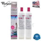 2pcs Whirlpool 4396510 Filter 5 Wf285 Kenmore 46 9010 Refrigerator Water Filter