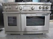 Wolf Df484cg 48 Pro Style Dual Fuel Range With Griddle And Grill 4 Burners