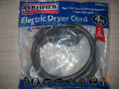 4 Prong Electric Dryer Cord 30 Amp