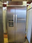 Kitchenaid Kssc36qts 36 Built In Side By Side Refrigerator
