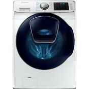 Samsung Washing Machine 4 5 Cu Ft High Efficiency Front Load Washer In White
