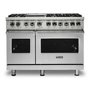 Viking 48 Dual Fuel Range Vdr5486gss Free Appliance And 5 Mail In Rebate