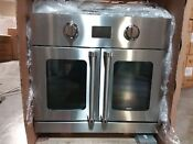 Blue Star 30 Ss Electric Pro French Door Wall Oven Bsew030ecsd