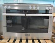 Miele M Touch Series Hr1956dfgd 48 Inch Pro Style Dual Fuel Range