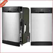 New Sunpentown Energystar 18 Built In Dishwasher With Rinseaid Warning Indicator