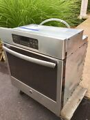 Ge Profile Jk3000 Wall Oven Stainless Steel