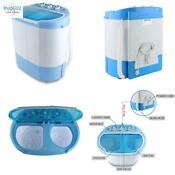Electric Portable Washing Machine Spin Dryer Compact Durable Rv Apartments Dorm