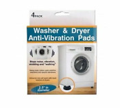 4 Pack Washer Dryer Anti Vibration Rubber Pads Reduce Noise Same Day Ship