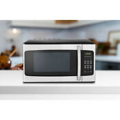 Compact Microwave Small Oven Quick Defrost Led Power Display Kitchen Timer Dorn