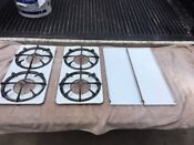 Vintage Stove Top Parts Set Roper Classic Antique Gas Range Grease Crumb Tray