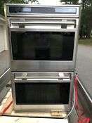 Wolf Do30f S L Series 30 Electric Double Wall Oven Framed Stainless Steel