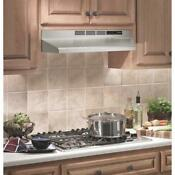 Over The Stove Range Hood Non Ducted Stainless Steel 30 Under Cabinet Kitchen