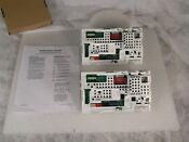 Whirlpool W10582042 Washer Electronic Control Board Lot Of Two 2 Panels Used
