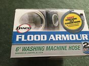 Flood Armour Washing Machine Flood Protection Set 6 Inlet Fill Hoses