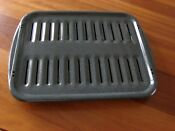New Whirlpool Ge Broiler Pan For Oven Or Gas Stove 16 1 2 X 12 1 2 Gray