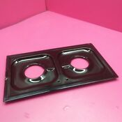 1 Whirlpool Counter Gas Range Burner Drip Pan Module 4321182