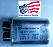 Microwave Oven H V High Voltage Capacitor Model Ch85 21090 2100vac 0 90uf