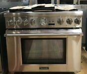 Thermador Pro Grand Prg364nlg36 Inch Pro Style Gas Range