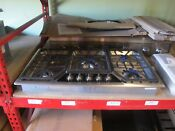 Thermador Masterpiece Series Sgsx365fs 36 Inch Gas Cooktop Drop In 5 Star Burner