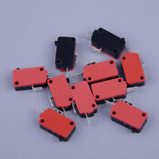 10pcs Microwave Oven Door Micro Switch For Lg Ge Starion Szm V16 Fa 63 Fd 63