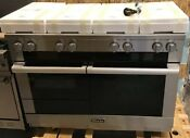 Miele M Touch Series Hr1954g 48 Inch Width Pro Style Dual Fuel Range
