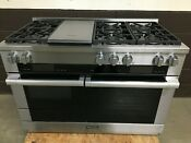 Miele Hr1955g 48 Pro Dual Fuel Range 6 Burners Grill