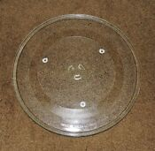 13 5 8 Ge Spacemaker Microwave Oven Round Glass Tray Wb49x10176 Wb49x10114 H55