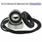 Front Load Washer Tub Bearing And Seal Kit For Lg Kenmore Etc Replacement Part