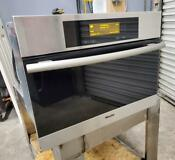 Miele Dg 4080 Ss Built In Food Steamer 24 Electric Steam Oven Working