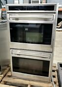 Wolf Double Built In Wall 30 Convection Oven Do30f S L Series