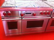 48 Wolf Dual Fuel Range Df484f Used