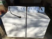 Kenmore He Washer And Dryer Set In White