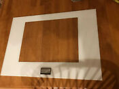 Frigidaire Range Oven Outer Door Glass White 29 1 2 X 20 15 16