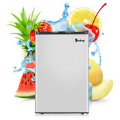 3 0cu Ft Upright Freezer Single Door Stainless Steel Electric Cooler For Home Us
