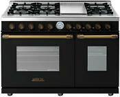 Tecnogas Superiore Deco Series 48 Freestanding Natural Gas Range Rd482gcnb