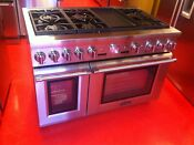 48 Thermador Professional Gas Range Prg486jdg Used 2015 Model