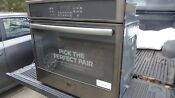 30 Ge Built In Single Electric Convection Wall Oven Black Stainless Steel