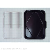 New Wolf Broiler Pan Black And Wire Rack R Gas Models