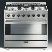 Smeg Classic Series 36 Natural Gas Range C36ggxu