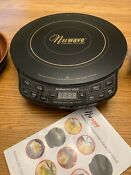 New Nuwave Pic Gold Precision Induction Cooktop 30211 Black With Book Dvd
