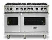 48 Gas Range Natural Gas Viking Vgr5488bss