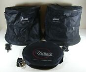 Nuwave Precision Induction Cooktop 3 Black Storage Bags Only Shoulder Strap Lot