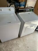 Maytag Super Capacity Washing Machine And Sears Kenmore Heavy Duty Dryer Nice