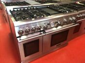 48 Thermador Prg486edg Pro Grand Natural Gas Range Used