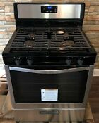 Whirlpool 30 Stainless Steel Gas Sealed Burner Range Wfg320mobs