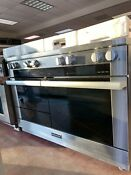 Miele M Touch Series Hr1954dg 48 Inch Pro Style Dual Fuel Range 8 Burners New
