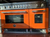 Bertazzoni Professional Series 48 Orange Gas Range Prof486ggasart