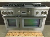 Thermador Prg486wdh 48 All Gas Range Pro Harmony 6 Burners Griddle Stainless