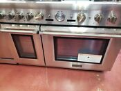 Thermador Pro Grand Professional Series 48 Inch Dual Fuel Range Oven Prd486jdg
