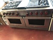 Wolf 60 Dual Fuel Range 6 Burners Infrared Charbroiler And Infrared